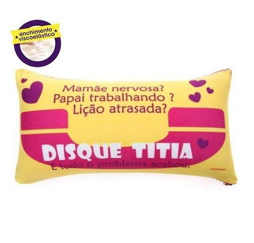 Almofada Disque Titia