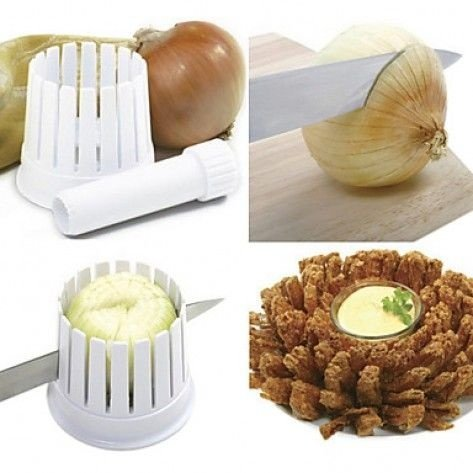 Cortador Onion Blossom Maker