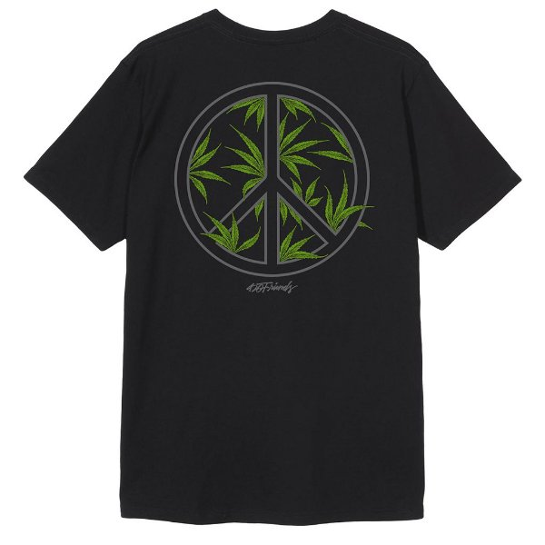 Camiseta Peace and Weed