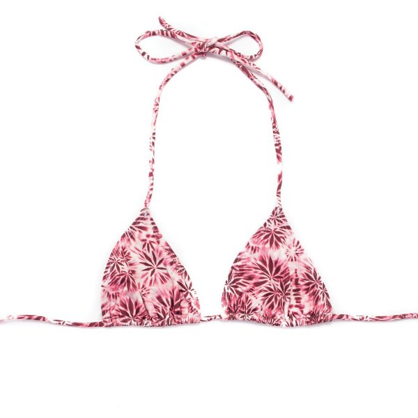 Top Cortininha Tie Dye Pink