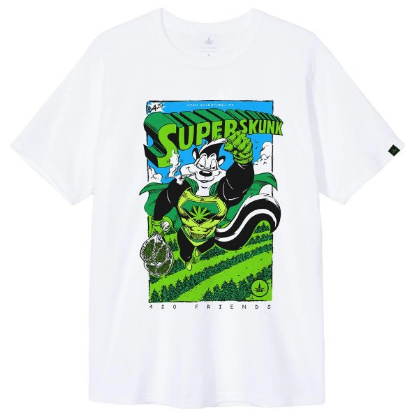 Camiseta SuperSkunk Adventures