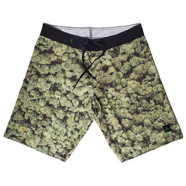 Boardshort Green Buds