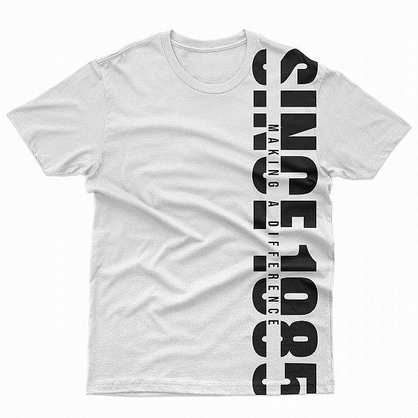 Camisa branca since 1985