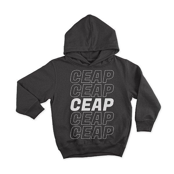 Blusa preta CEAP P&B