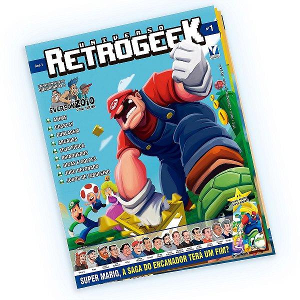 Revista Universo RetroGeek Ano1 Edição 01