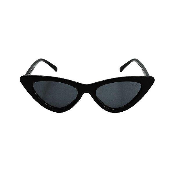 Óculos de Sol com Proteção UV Gatinho Preto