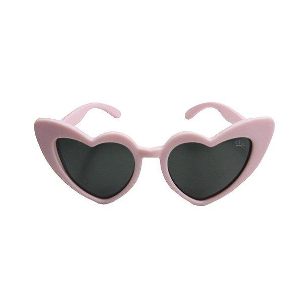 Óculos de Sol com Proteção UV Coração Rosa