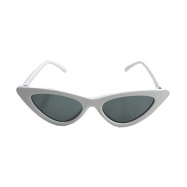 Óculos de Sol com Proteção UV Gatinho Branco