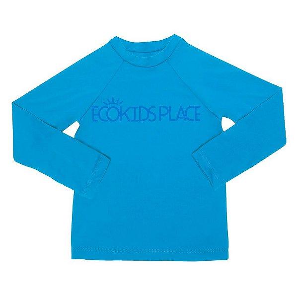 Camisa Manga Longa Azul Anil com FPU 50+