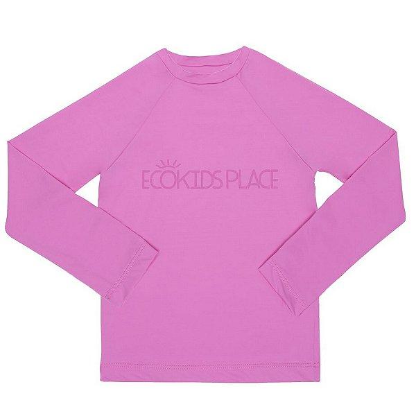 Camisa Manga Longa Pink com FPU 50+