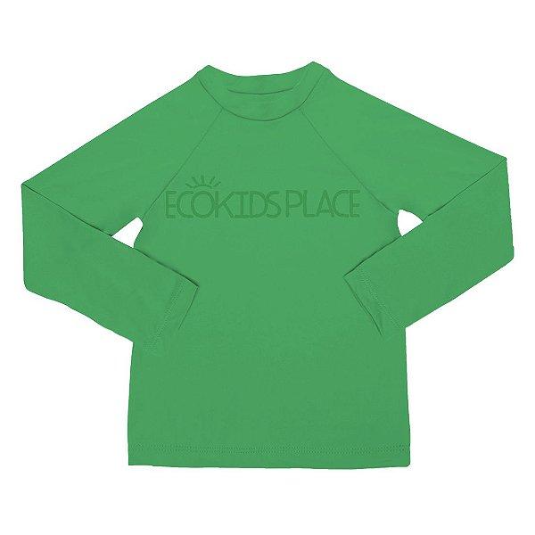 Camisa Manga Longa Verde Floresta com FPU 50+
