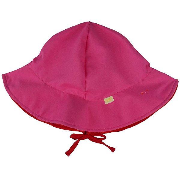Chapéu Dupla Face Pink l Vermelho FPU 50+