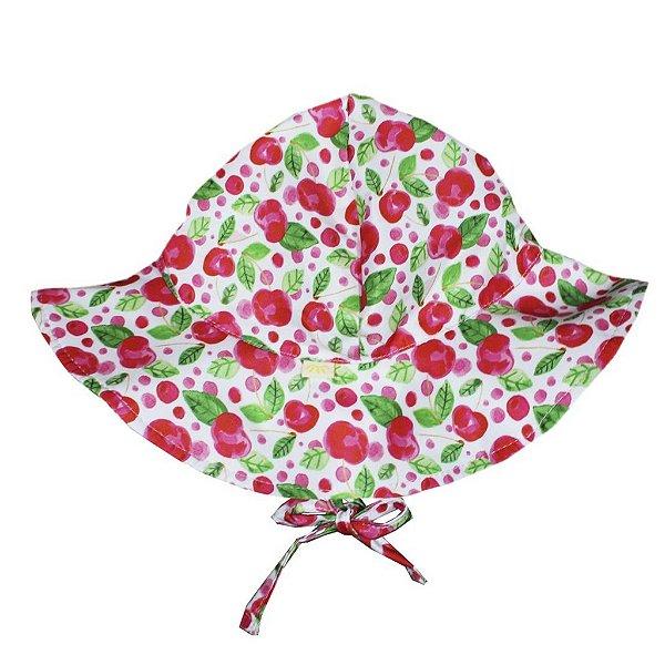 Chapéu Frutinhas Vermelha FPU 50+