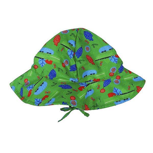 Chapéu Jacaré Verde FPU 50+