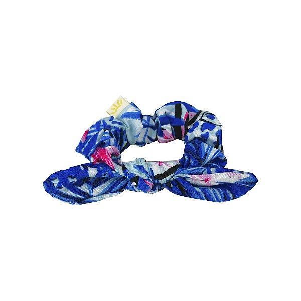Xuxinha de Cabelo com Elástico e Laço Aloha Multicolorido