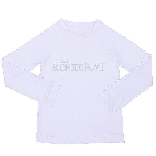 Camisa Manga Longa Branca FPU 80+