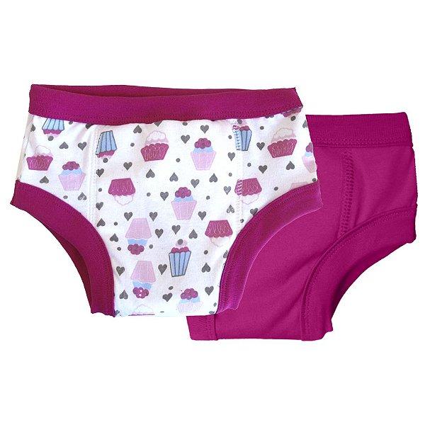 Kit Desfralde Noturno Cupcake Pink