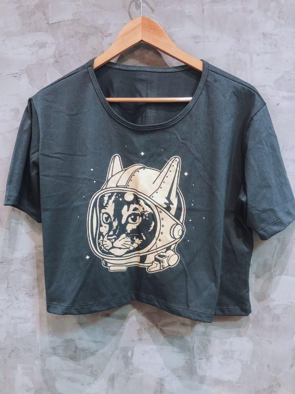 Tshirt Cat Astronauta