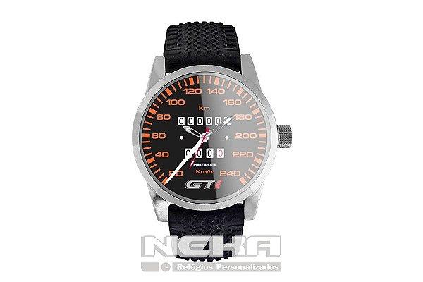 263c9ae05bd Relógio de Pulso Personalizado Painel Velocimetro Gol GTI 5028 ...