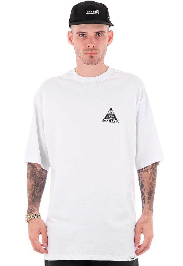 Camiseta Wanted - Logo nas Costas