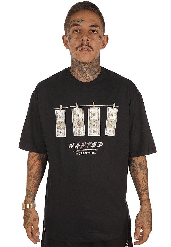 Camiseta Wanted - Dollar