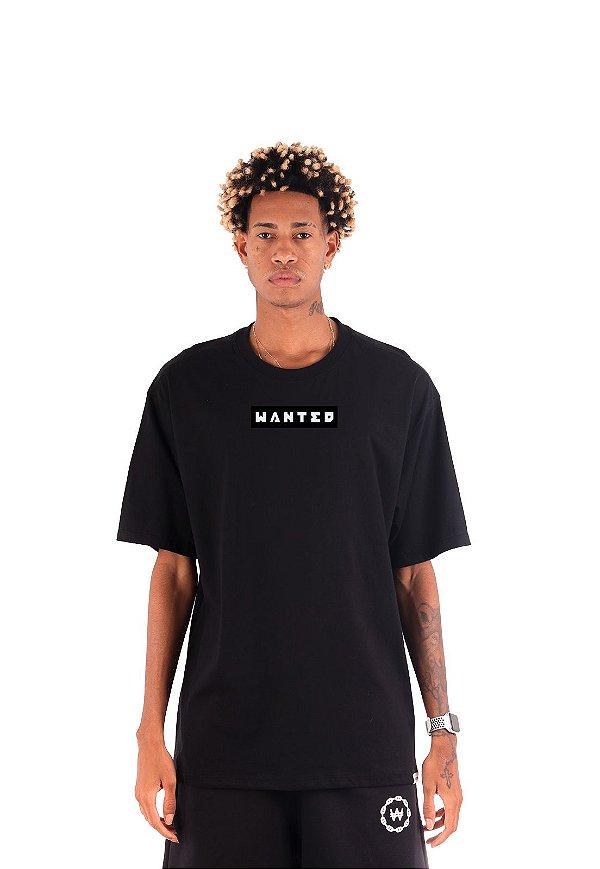 Camiseta Wanted - Box Logo
