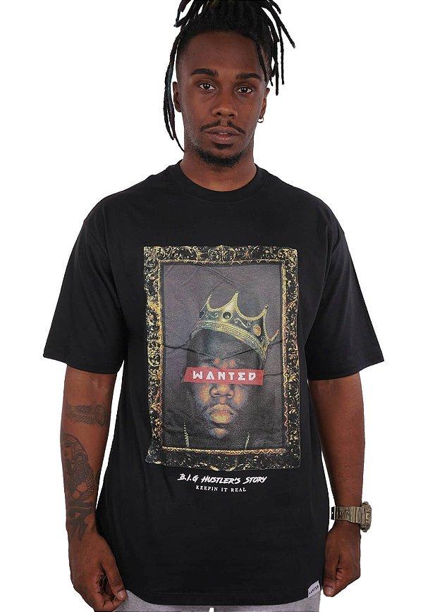 Camiseta Wanted - B.I.G