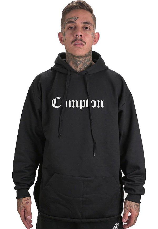Moletom Canguru Wanted - Compton