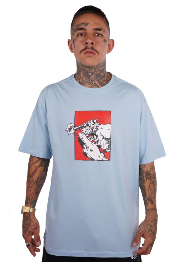 Camiseta Wanted - Who Shot Ya?