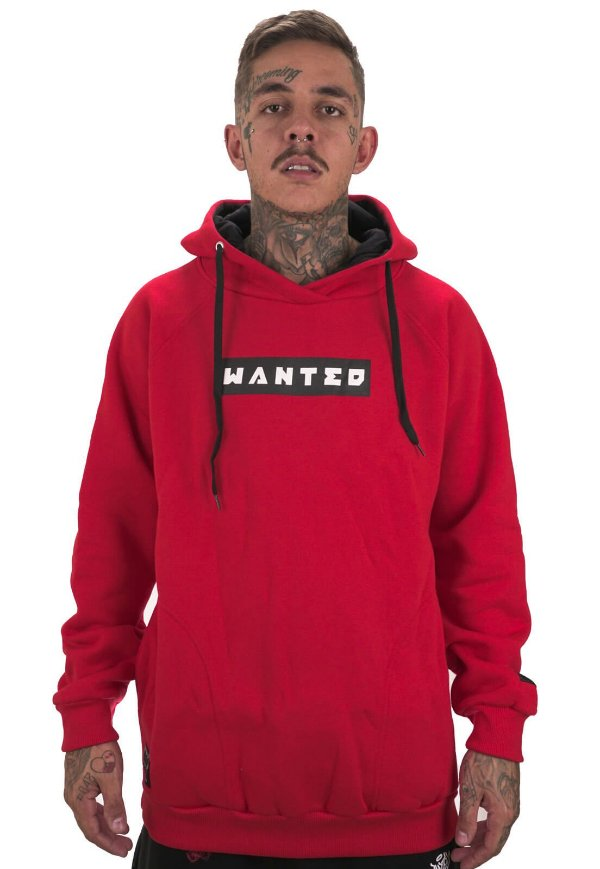 Moletom Classic Wanted - Box Logo