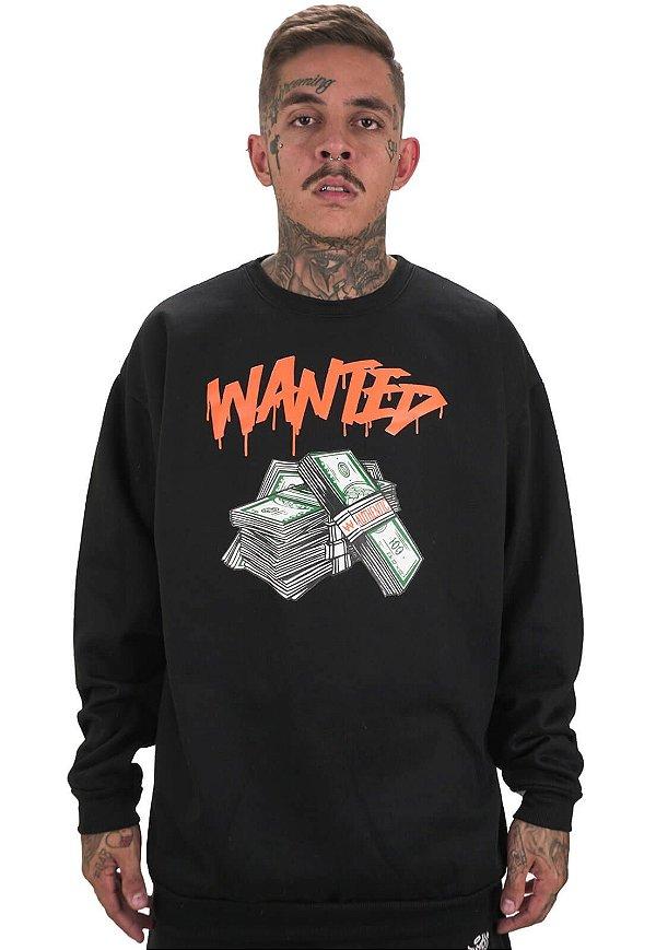 Moletom Wanted - Authentic