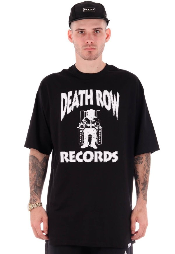 Camiseta Wanted - Death Row