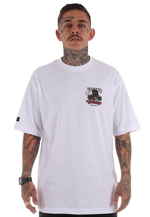 Camiseta Premium Wanted - It's Not Business Branca
