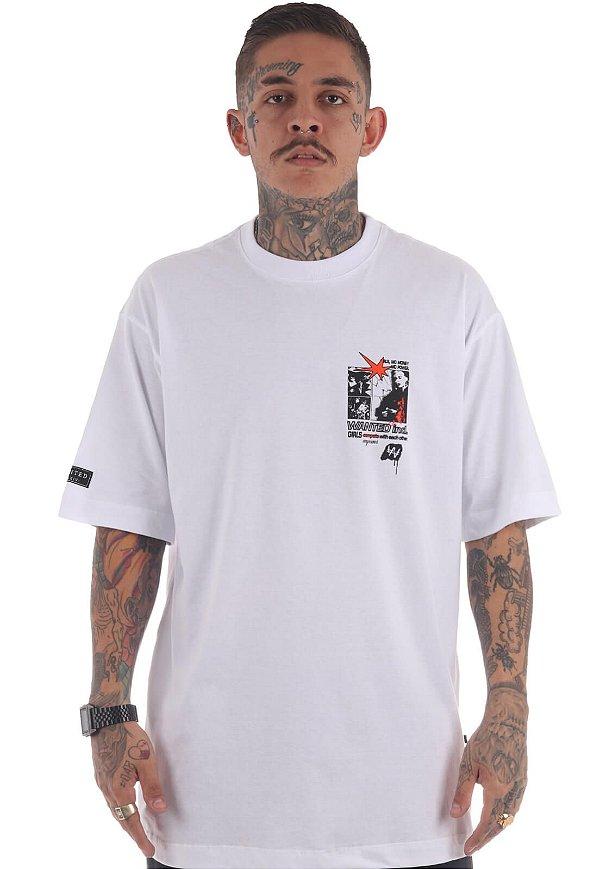 Camiseta Premium Wanted - Empower Branca