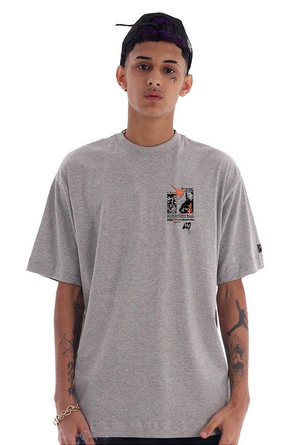 Camiseta Premium Wanted - Empower Cinza