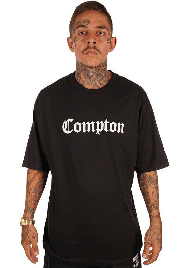 Camiseta Wanted - Compton