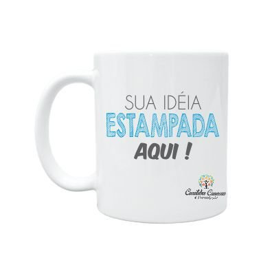 CANECA BRANCA PARA PERSONALIZAR - 40 UNIDADES