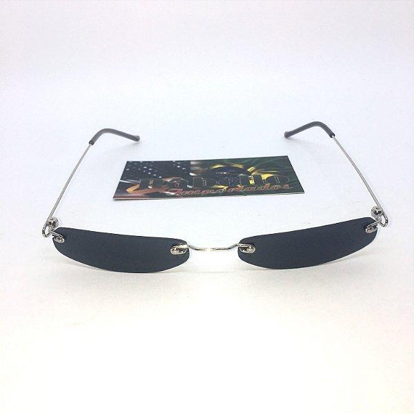 Óculos Vintage Slim- Preto