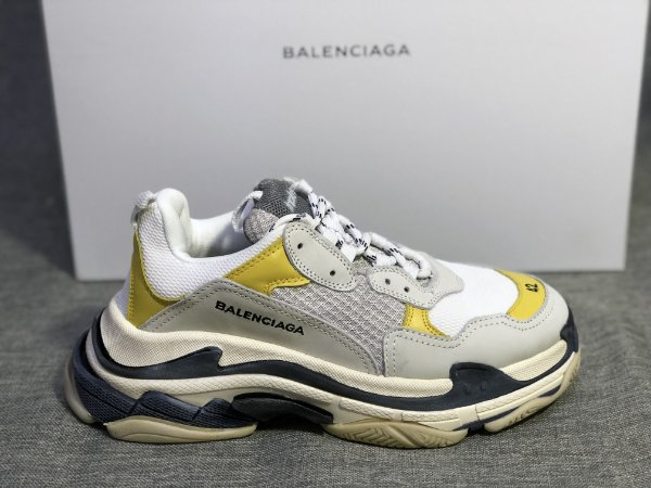 Tênis Balenciaga Triple S White/Yellow - ENCOMENDA