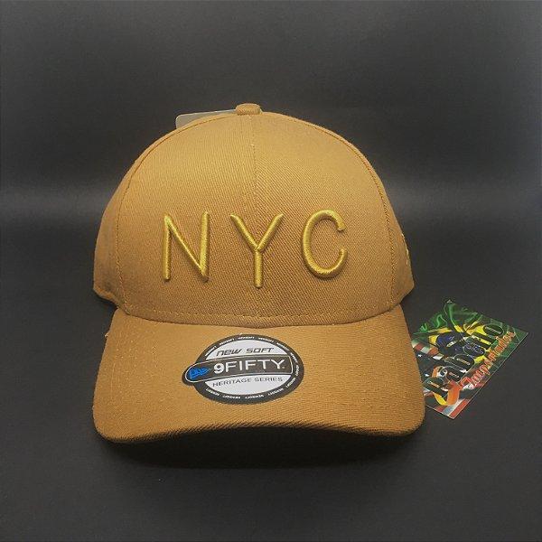 Boné NYC Bege - New Era
