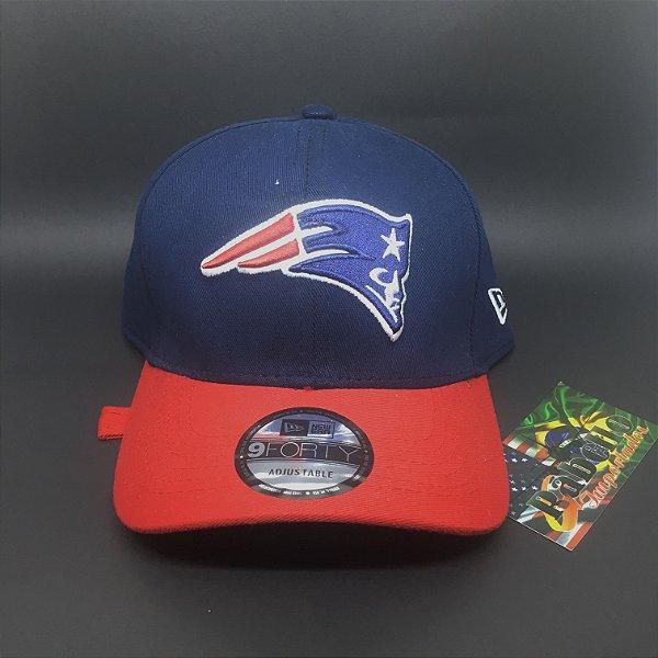 Boné New Era New England Patriots - Marinho/Vermelho