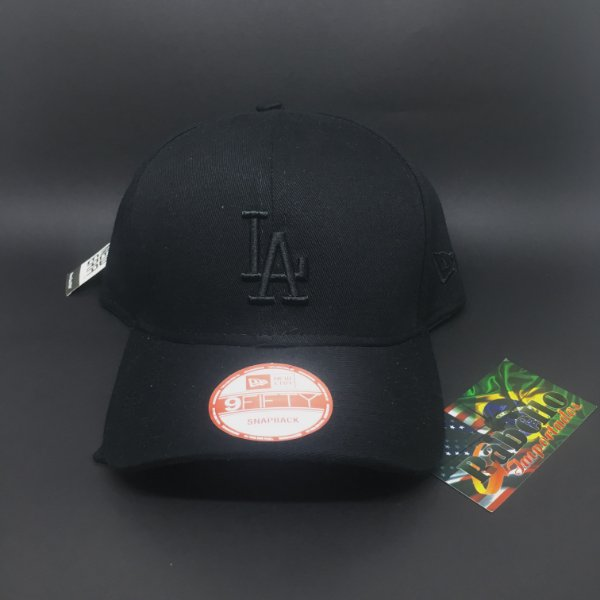 Boné New Era MLB Los Angeles Dodgers - Preto