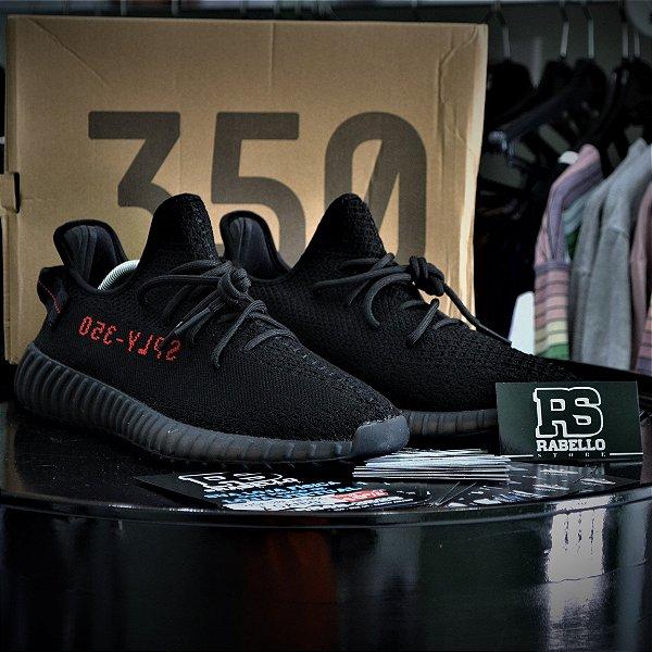 Adidas Yezzy 350 Boost V2 'Bred' - ENCOMENDA