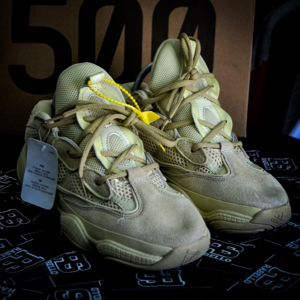 Adidas Yeezy 500 Supermoon 'Yellow' - PRONTA ENTREGA