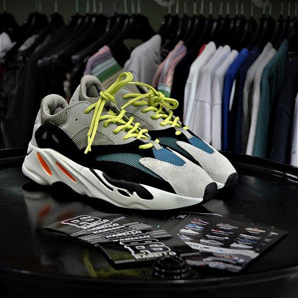 Adidas Yeezy Wave Runner 700 'Solid Grey' - Pronta Entrega