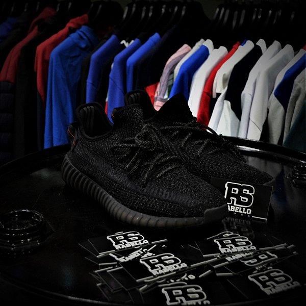 Adidas Yezzy 350 Boost 'Pirate Black Refletive' - ENCOMENDA