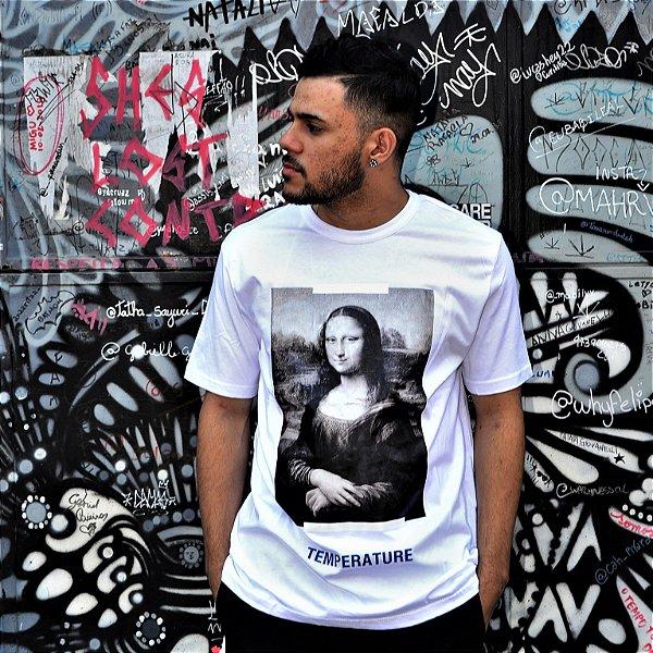Camiseta OFF-WHITE 'Mona Lisa' 2018 Branca - Pronta Entrega