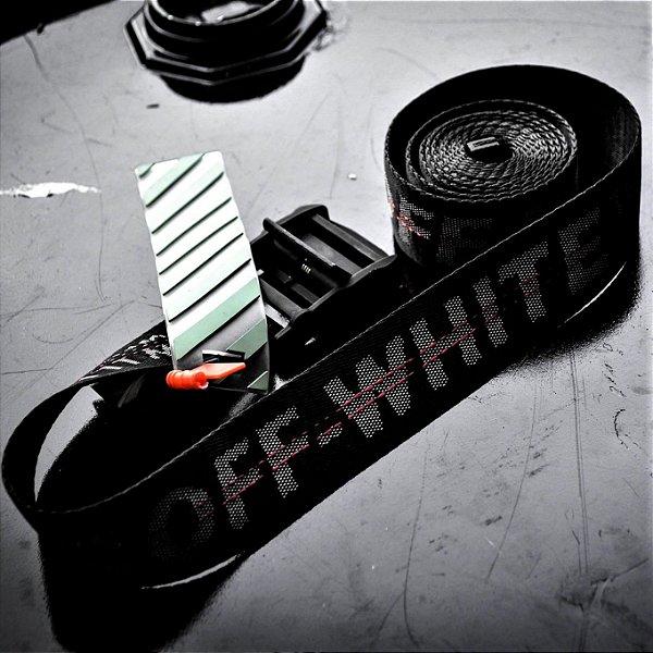 Cinto Off-White 'Industrial Logo Belt' Black  - Pronta Entrega