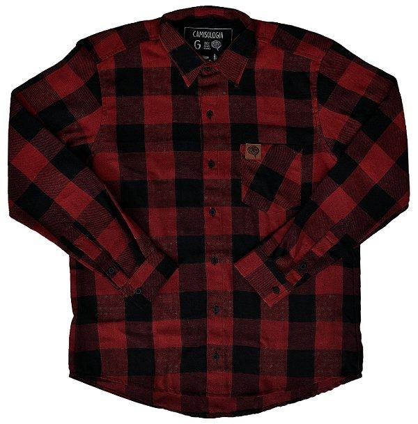 Camisa Trem Xadrez