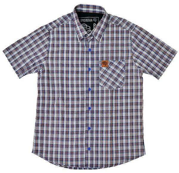 Camisa Xadrez Queijo do Serro